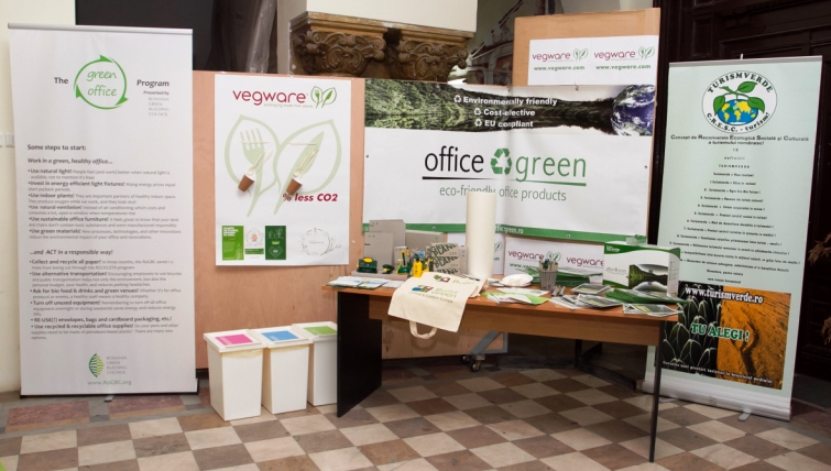"Green Corner at ""Environment, Technology and Design"" conference"